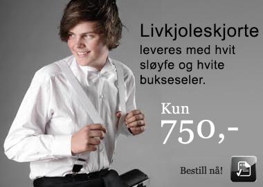 tilbud skjorte